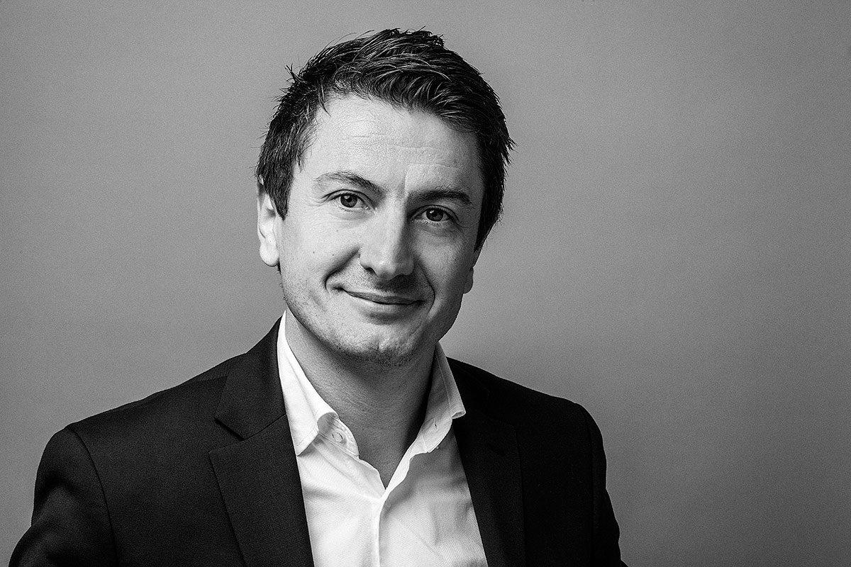 Portrait de Jean Fleury directeur général de la société LM5P à Marseille