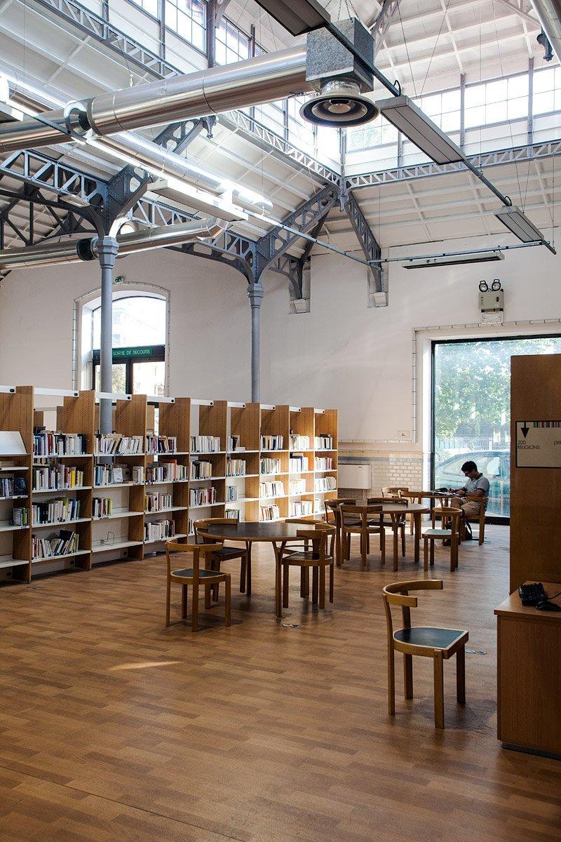 Bibliothèque méjanes, Aix-en-Provence - Photographie : Denis Dalmasso
