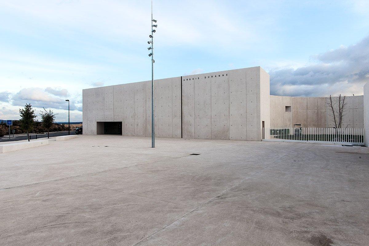 Salle Polyvalente, La Duranne, Les Milles, Aix-en-Provence - Photographie : Denis Dalmasso