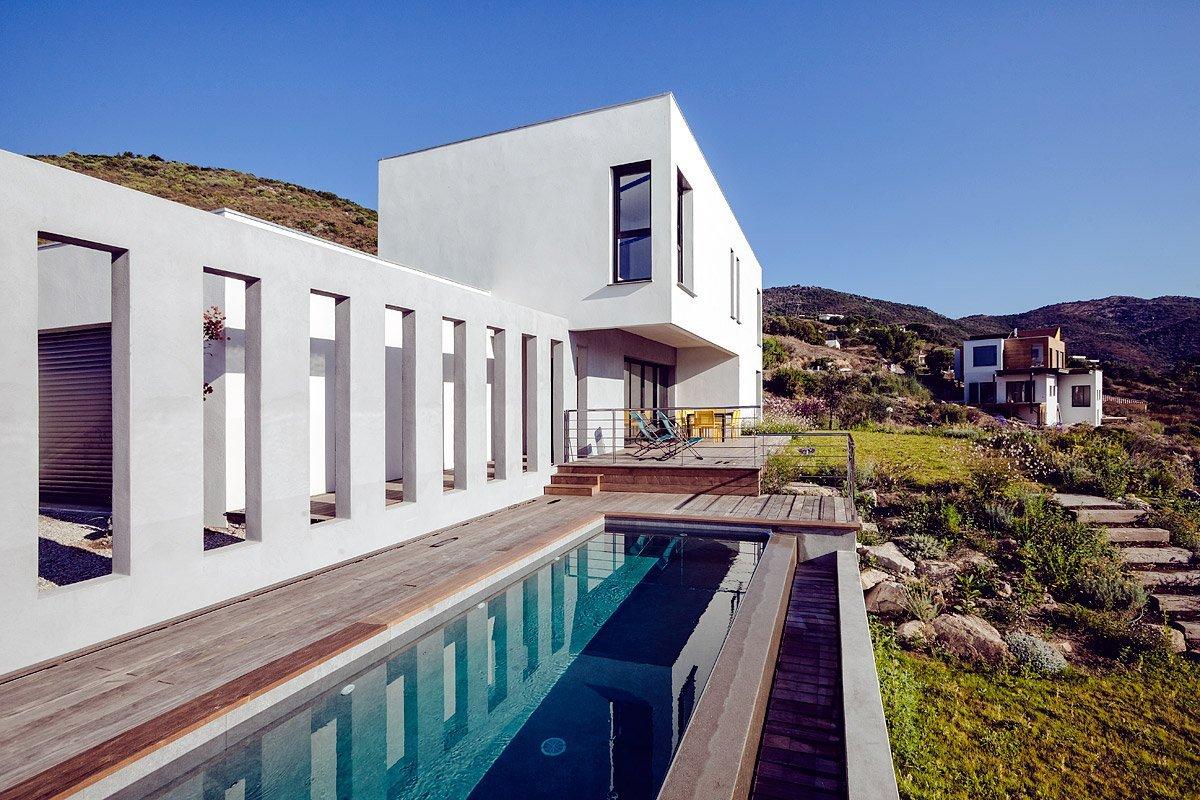 Maison Particulière, Architecte Pariente, Corse - Photographie : Denis Dalmasso