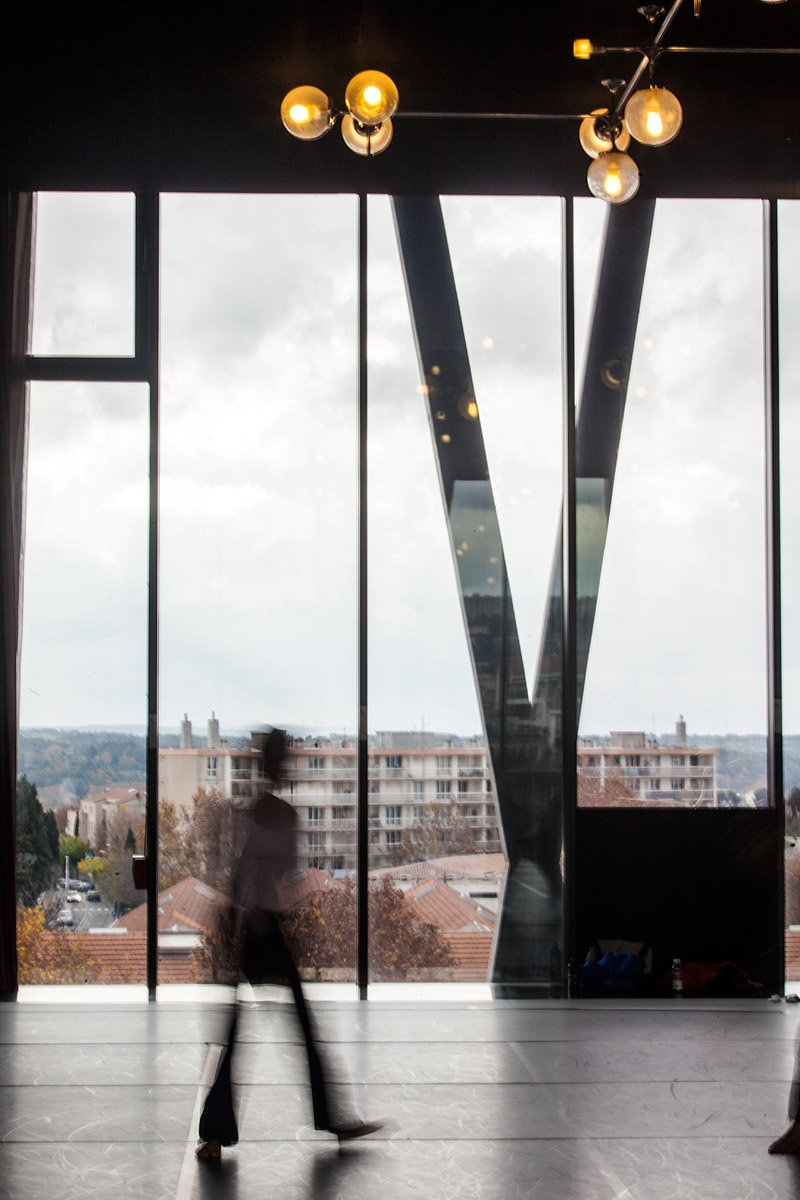 Pavillon Noir, Aix-en-Provence - Architecte : Rudy Ricciotti - Photographie : Denis Dalmasso