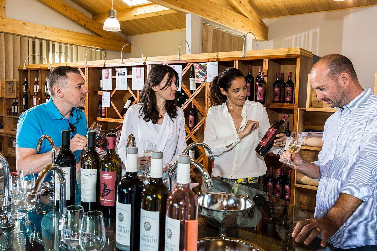 Reportage sur la dégustation des vins du Château Baulieu à Rognes