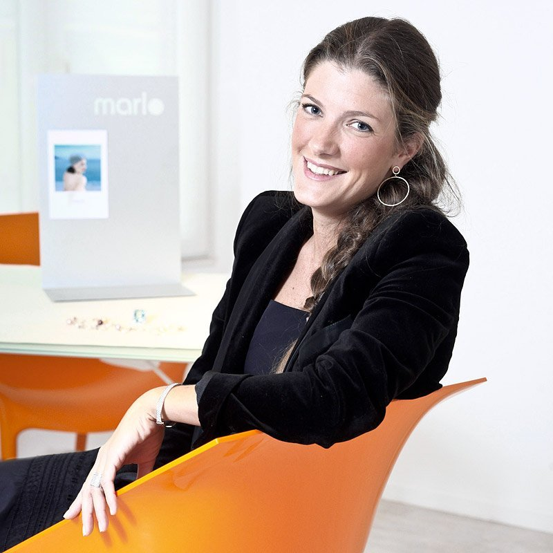 Portrait de Marie Bagnoli, créatrice de la marque de joaillerie HOPE